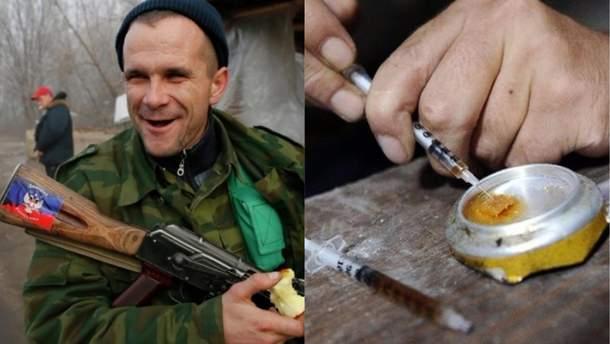 На Донбасі загинули 2 бойовиків від передозування наркотиками