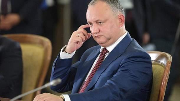 Додон заявив, що Придністров'я може увійти до складу Молдови або України