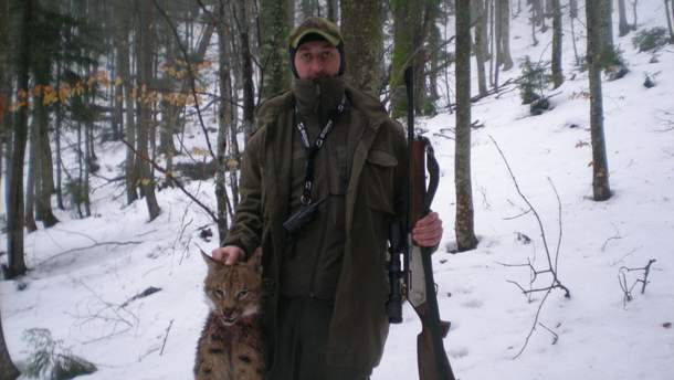 Сын лесника и убитая рысь
