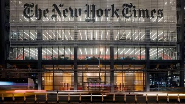 The New York Times не будет менять карту, где Крым обозначен как спорная территория