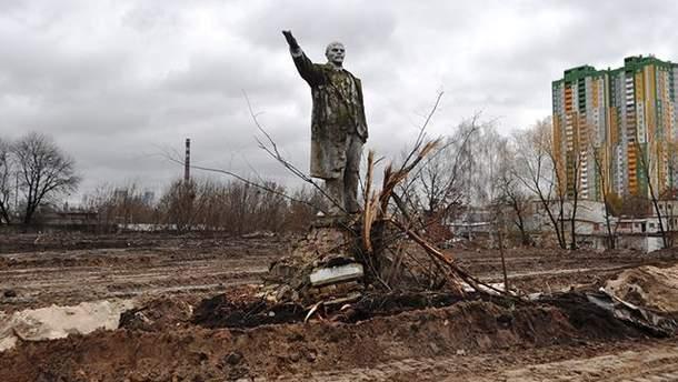 Памятник Ленину на Оболони в Киеве