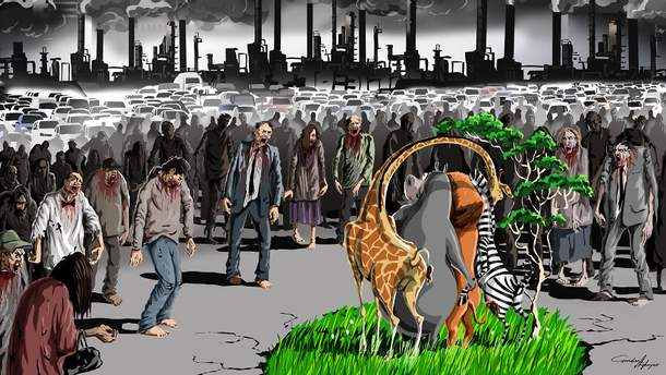 Иллюстрации Гюндуза Агаева