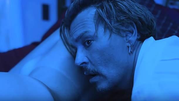"""Джонні Депп у відеокліпі """"KILL4ME"""" (18+)"""