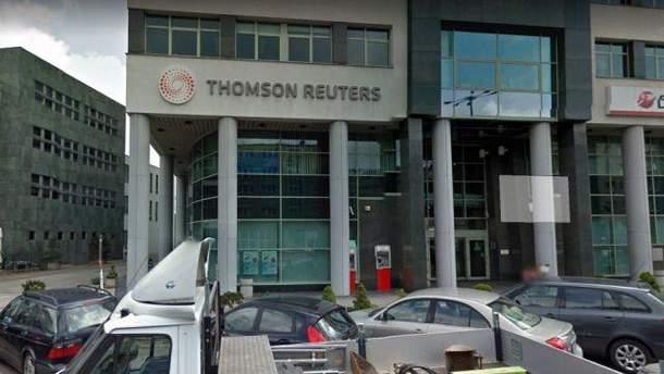 Стрельба произошла в офисе информационного агентства Thomson Reuters