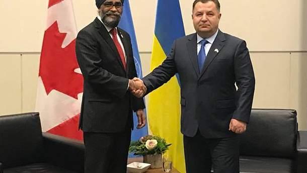 Полторак с Сейджжаном обсудил введение миротворцев ООН на Донбасс