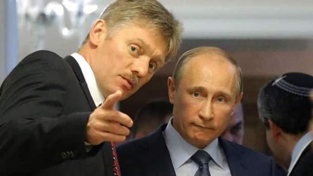 """Пєсков не побачив """"нічого страшного"""" у фейку від Міноборони Росії"""