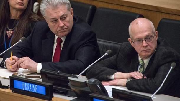 Постпред України при ООН Володимир Єльченко