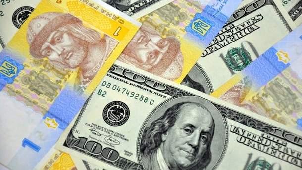 Готівковий курс валют 15 листопада в Україні