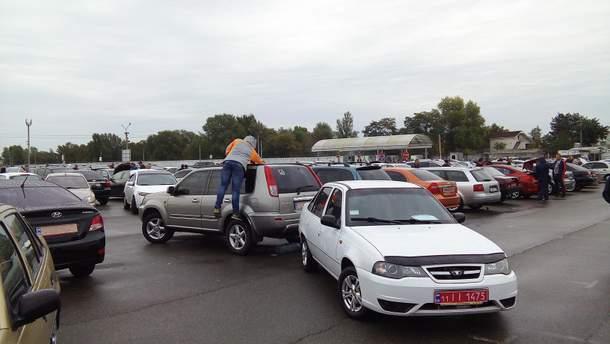 Самые популярные подержанные  автомобили в Украине