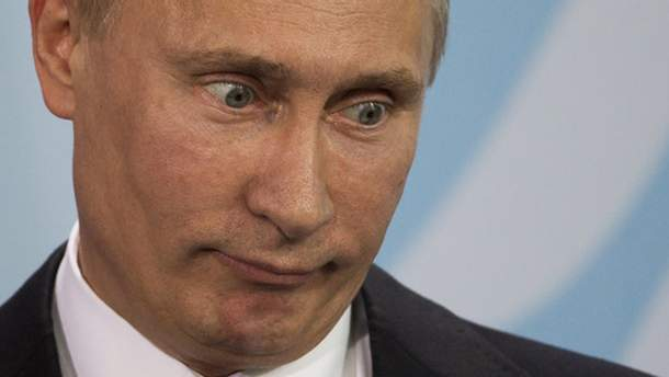 Путін з крилами та тілом ведмедя з'явився у Росії