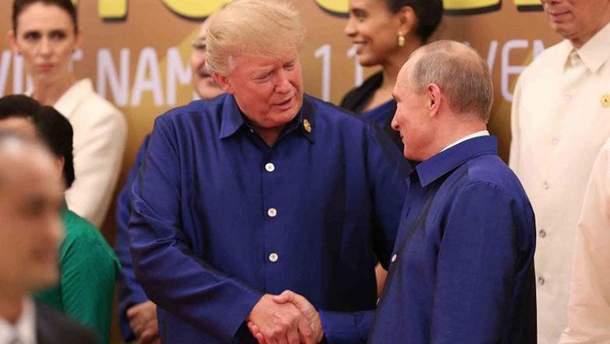 Довіра Трампа до Путіна – це дикість