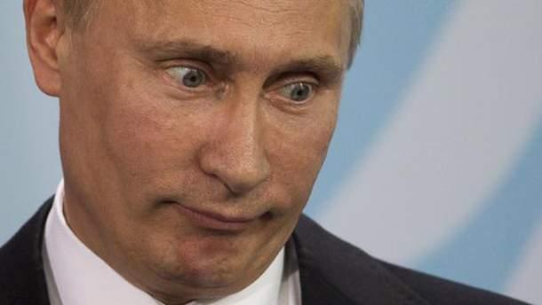 Путин с крыльями и телом медведя появился в России