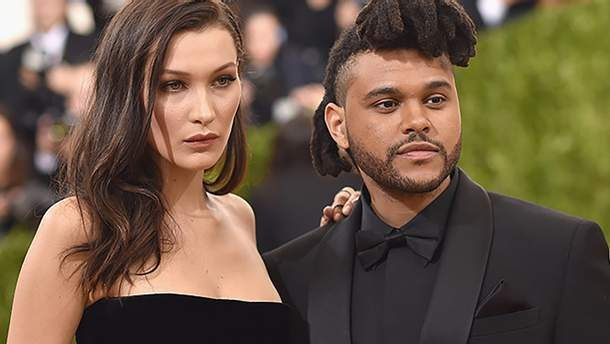 The Weeknd и модель Белла Хадид во время их отношений