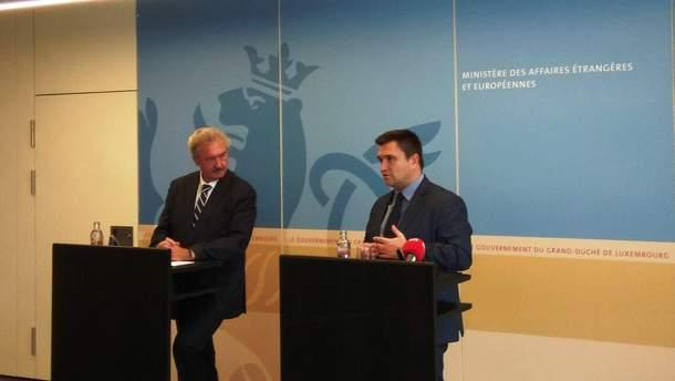 Встреча Павла Климкина с Жаном Ассельборном