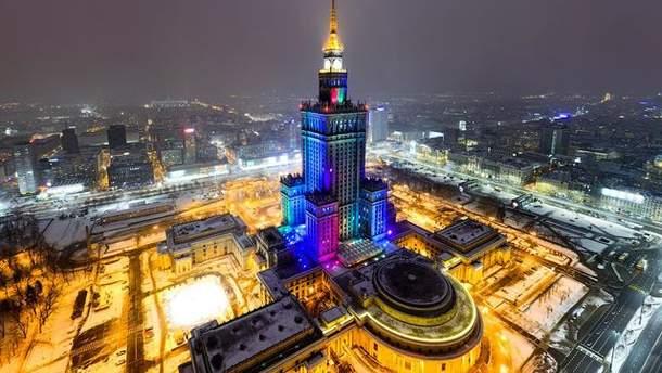 Дворец культуры и науки в Варшаве могут снести