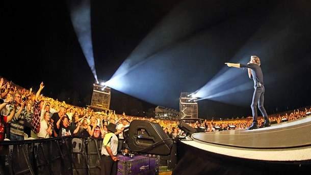 Концерт The Rolling Stones в Гамбурге