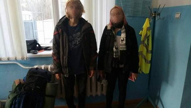 Задержанные сталкеры