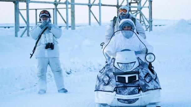 Росія збільшує свої війська та озброєння в Арктиці