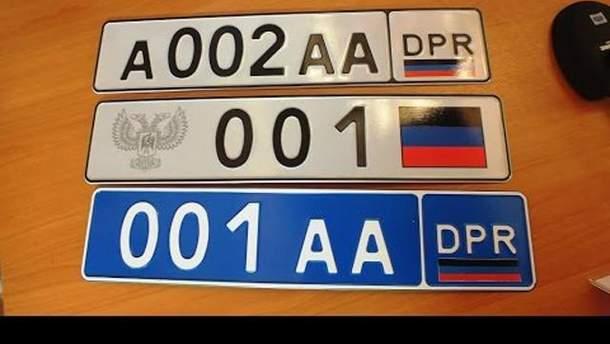 """У """"ДНР"""" вигадали """"закон"""" для авто з українською реєстрацією"""