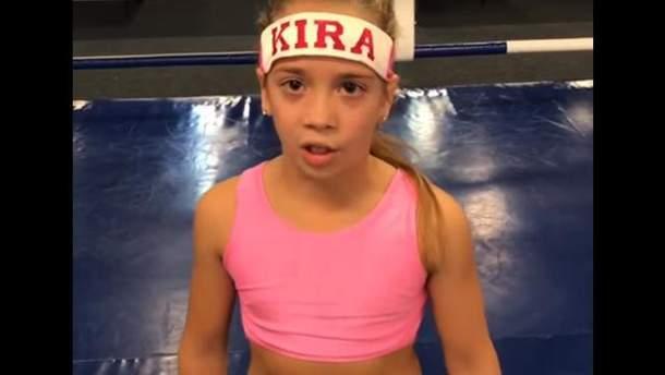 Бій Ломаченко – Рігондо: маленька боксерка записала відеозвернення до українського спортсмена