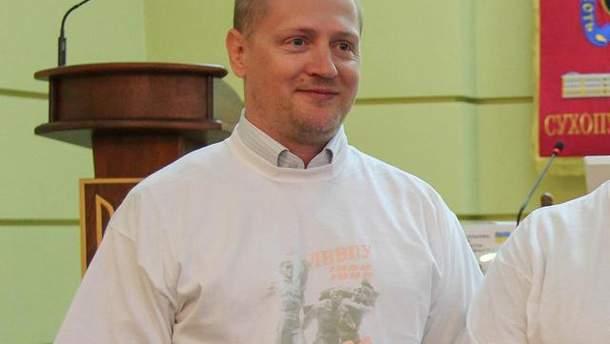 У Павла Шаройка перед затриманням у Білорусі був обшук