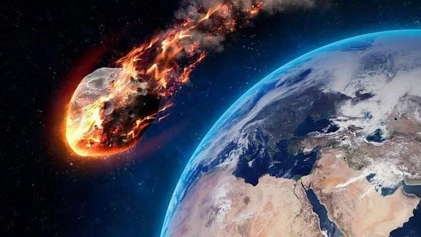 Метеорит пролетел над Россией, Финляндией и Норвегией