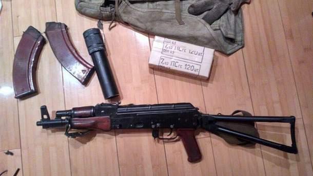 У преступников нашли арсенал оружия