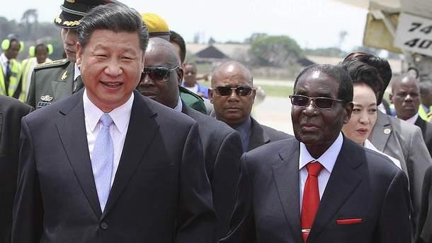 Сі Цзіньпін міг посприяти військовому перевороту у Зімбабве
