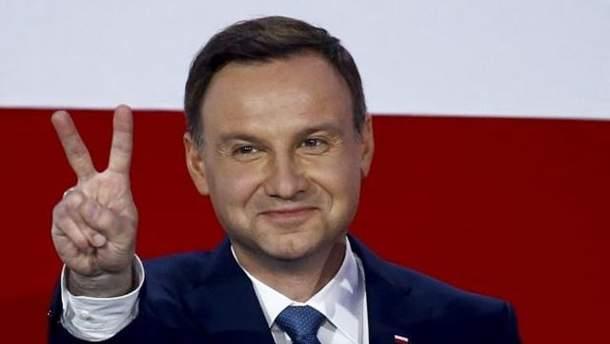 Пресс-служба польского президента назвала Порошенко Виктором