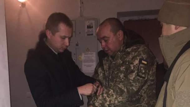 Андрей Алимпиев при задержании