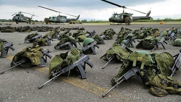 Военная помощь США