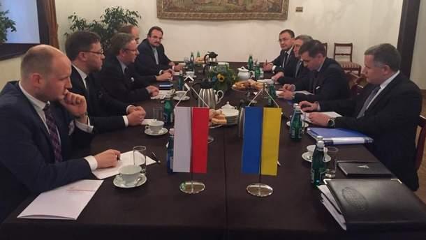 Встреча Украина - Польша