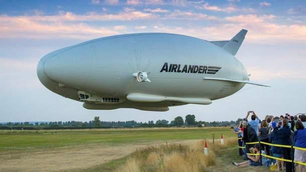 В Великобритании упал гибридный дирижабль Airlander 10
