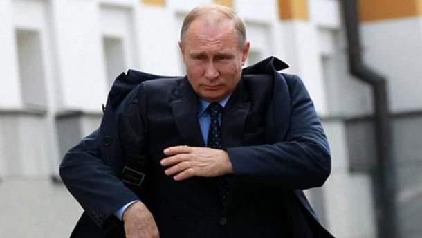 Путін і його таємниця: карикатурист висміяв мовчанку глави Кремля про вибори-2018