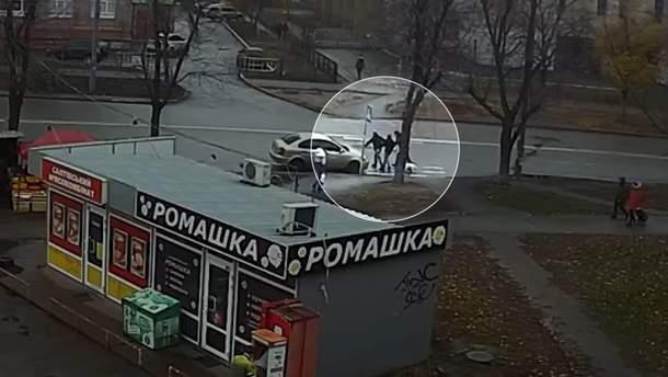 Вероятное похищение женщины в Киеве