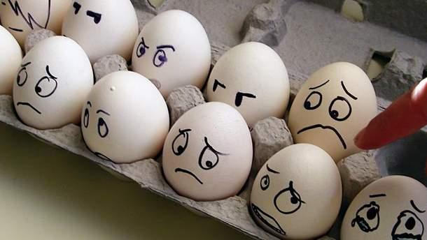 Умови зберігання яєць