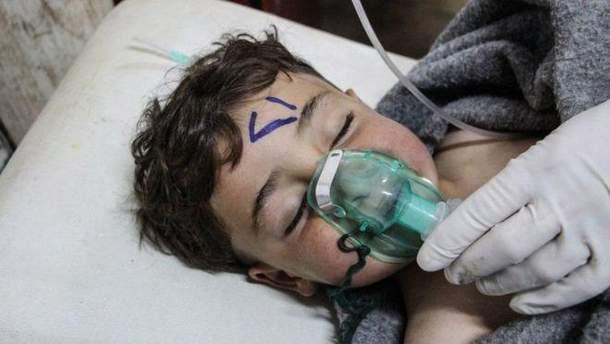 Химические атаки в Сирии