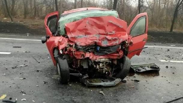 Аварія у Слов'янську
