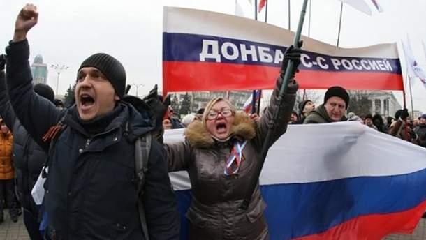 Так называемые активисты в Авдеевке заявили, что не понимают украинского языка