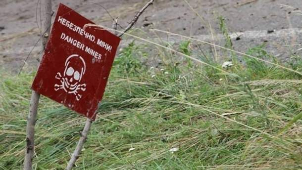 На Донбасі міни – майже всюди