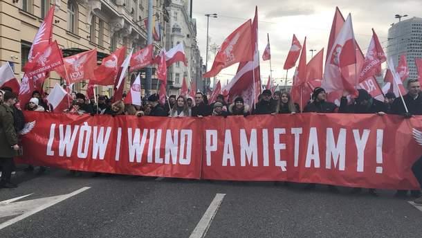 Марш націоналістів у Польщі