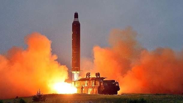 Балістична ракета КНДР може сягнути США вже цього року