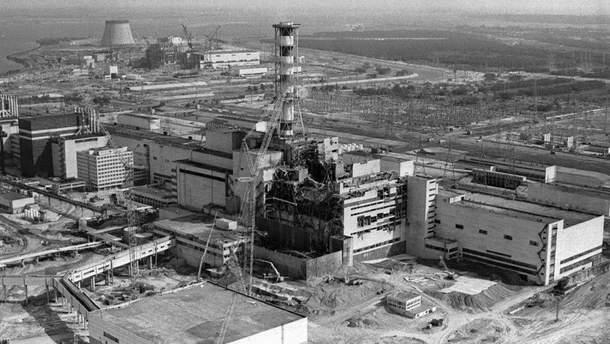 Вибух на Чорнобильській АЕС