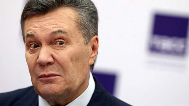 Віктор Янукович не бажає повертатися до України