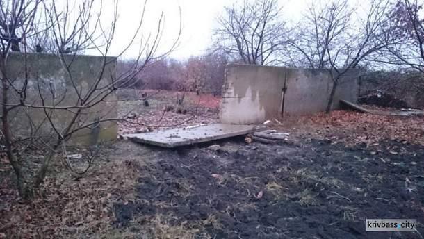 В Кривом Роге парня задавило бетонной плитой