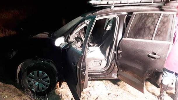 Авто, которое ограбили в Житомирской области