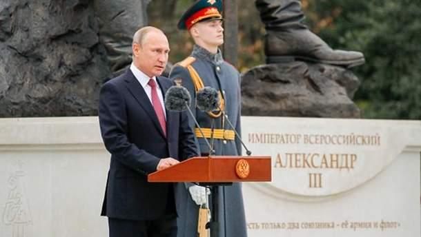 Путин в аннексированном Крыму