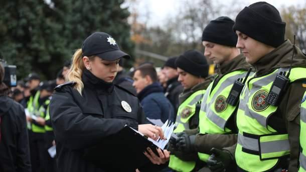 Киев в День Достоинства и Свободы будут усиленно охранять полицейские и военные