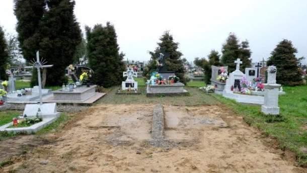 Пам'ятник воїнам УПА у польських Грушовичах знесли у квітні