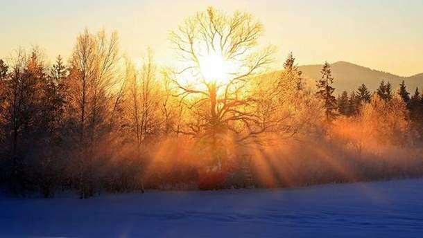 Погода на 23 листопада в Україні  сонце 3bc8d553d2594